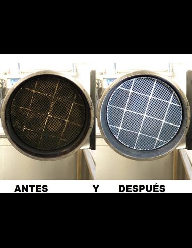 LIMPIEZA DE DPF DE FURGONETA/4x4