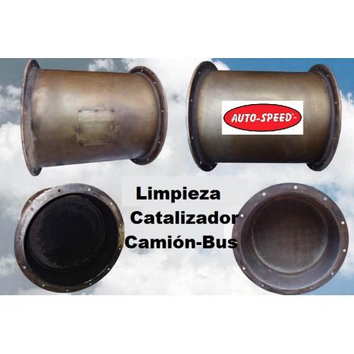 LIMPIEZA DE DPF DE CAMIÓN