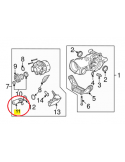 BALONA MERCEDES ML W164 DELANTERA SUSPENSION NEUMATICA REFORZADA
