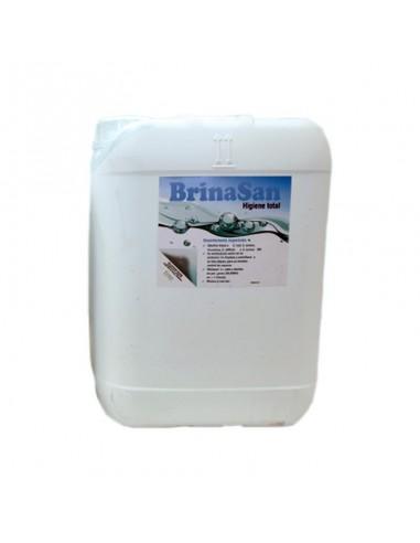 Desinfectante Brinasan en garrafa de 10 litros especial para coches, talleres y concesionarios